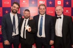 Best Use of Digital Winners - Guns or Knives L-R Andy Williams Adam Crane Luke Sheridan and Paul Miley